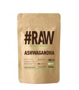 RAW Ashwagandha 500mg 120caps