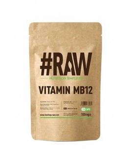 RAW Vitamin MB12 Methylcobalamin 1mg 120caps