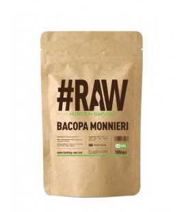 RAW Bacopa Monnieri 500mg 240caps