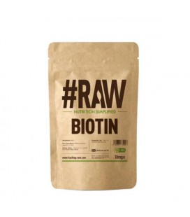 RAW Biotin - 10mg 120caps