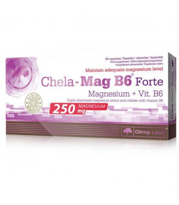 Olimp Chela Mag B6 Forte 60kap