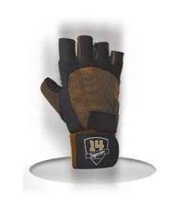 Superior Rękawiczki Męskie Brązowo-Czarne L