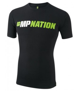 Musclepharm Mens T-Shirt MPNATION - Black
