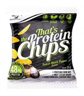Sport Definition Protein Chips 25g [sól i pieprz]