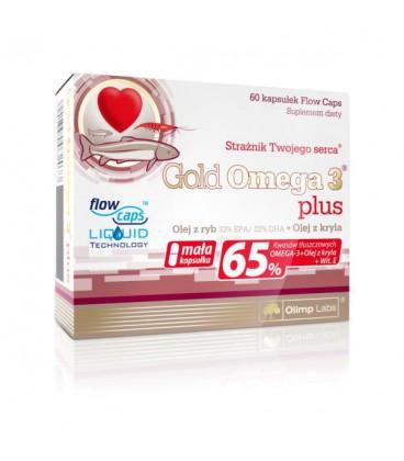 Olimp Gold Omega 3 Plus 60kaps