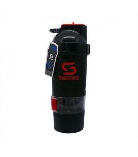 ShakeSphere V2 700ml - czerwono-czarny