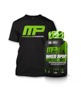 Musclepharm Shred Sport 60kaps + Musclepharm T-shirt