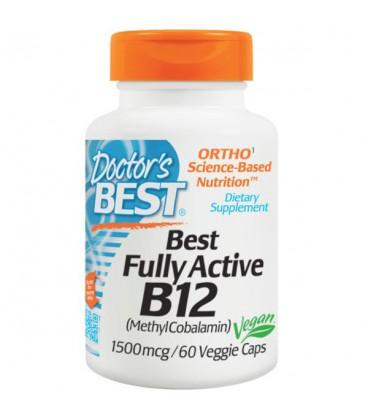 Doctor's Best Best Fully Active B12 1500mcg 60vcap