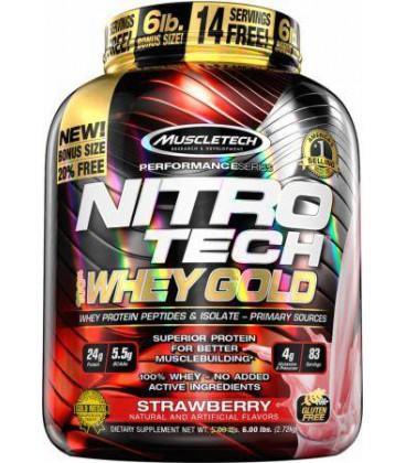 Muscletech Nitro-Tech 100% Whey Gold 2,51kg