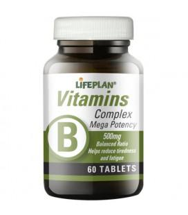 Lifeplan Vitamin B Complex Mega 30tab