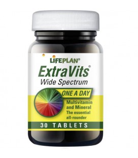Lifeplan Extravits Wide Spectrum 30tab