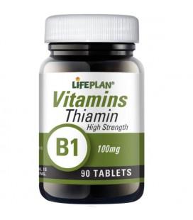 Lifeplan Thiamin B1 100mg 90tab