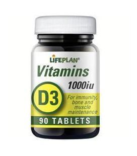 Lifeplan Vitamin D 1000IU 90tab