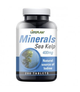 Lifeplan Sea Kelp 400mg 280tab