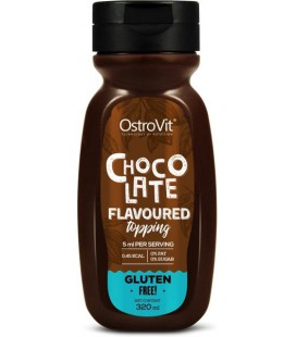 Ostrovit Chocolate Flavoured Topping 320ml