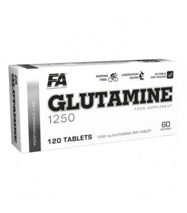 FA Performance Glutamine 1250 120kaps.