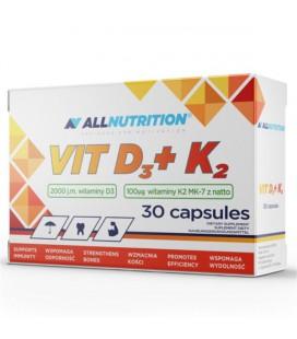 ALLNUTRITION VIT D3 + K2 30 kapsułek