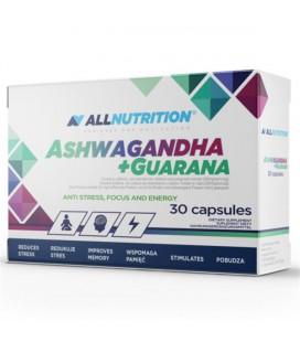 ALLNUTRITION Ashwagandha 300mg + Guarana 30kaps