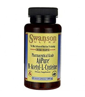 Swanson AjiPure N-Acetyl-L-Cysteine 600mg 60 vcaps