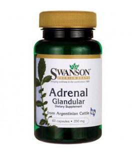 Swanson Adrenal Glandular 350mg - 60caps