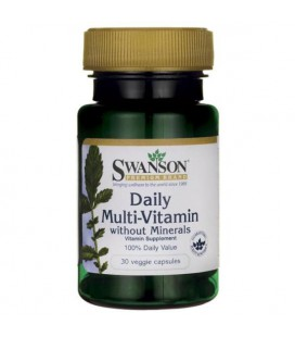 Swanson Daily Multi-Vitamin without Minerals 30vcaps
