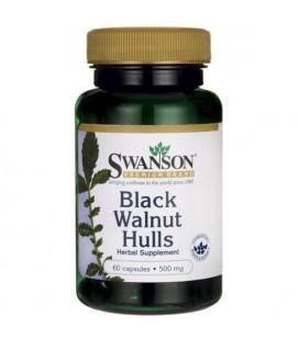 Swanson Black Walnut Hulls 500mg 60kap.