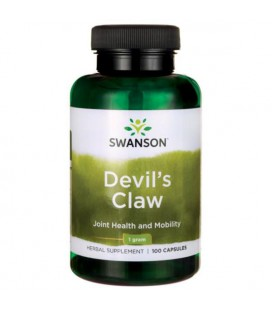 Swanson Devil's Claw 1000mg 100caps