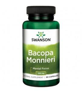 Swanson Bacopa Monnieri 250mg 90 kapsułek