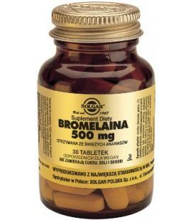 Solgar Bromelaina 500mg 30 tabletek