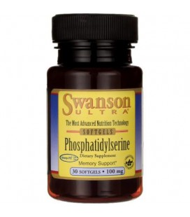 Swanson Phosphatidylserine (Fosfatydyloseryna) 100mg 30kaps
