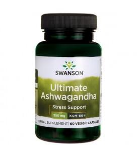 Swanson Ultimate Ashwagandha KSM-66 250mg 60VCaps
