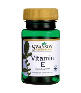 Swanson Vitamin E 200IU 60softgels