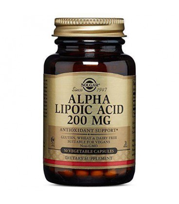 Solgar Alpha Lipoic Acid 200mg 50vcaps