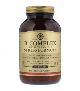 Solgar B-Complex with Vitamin C Stress Formula 250tab