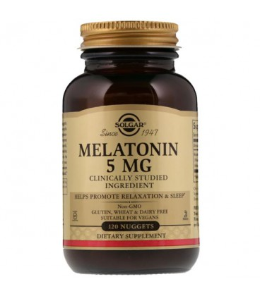 Solgar Melatonina 5mg 120 tabletek