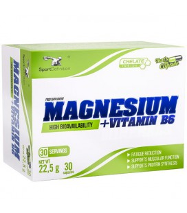 Sport Definition Magnesium plus Vitamin B6 30kaps