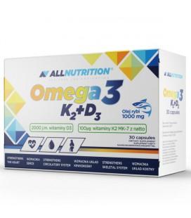ALLNUTRITION Omega 3 D3 K2 30 softgels