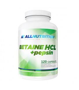 ALLNUTRITION Betaine HCL Pepsin 120 kapsułek