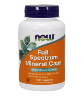 NOW FOODS FULL SPECTRUM MINERAL CAPS 120caps