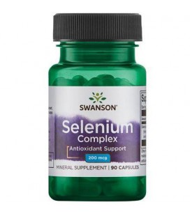 Swanson Selenium Complex 200mcg 90 Kapsułek