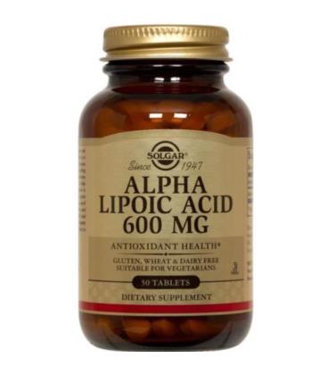 Solgar Alpha Lipoic Acid 600mg 50tab