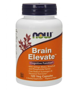 NOW FOODS BRAIN ELEVATE FORMULA 60vcaps