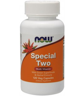 NOW FOODS SPECIAL TWO MULTI 120 VCAPS