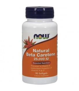 NOW Natural Beta Carotene 25000 IU 90sgels