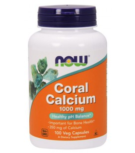 NOW CORAL CALCIUM 1000MG 100vcaps