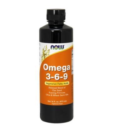 NOW OMEGA 3-6-9 Liquid 473 ml