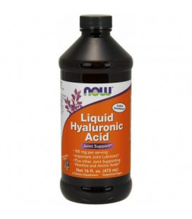 NOW HYALURONIC ACID PLUS 473ML