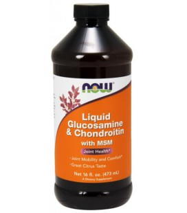 NOW GLUCOSAMINE CHONDROITIN MSM 473ML