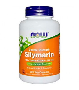 NOW SILYMARIN MILK THISTLE 300mg 200 vcaps