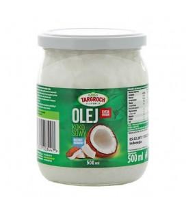 Targroch Olej kokosowy nierafinowany (500 ml)